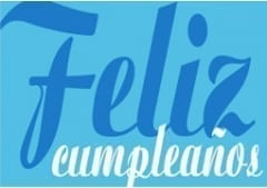 Feliz Cumpleanos  (Happy Birthday) Gift Voucher