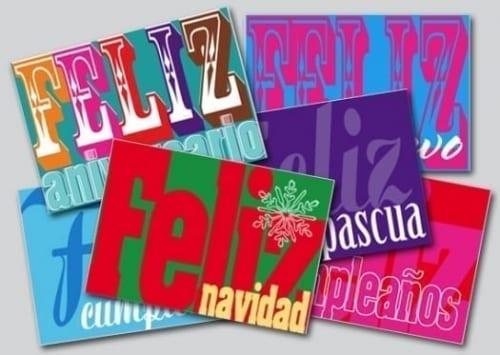Feliz Postcards Range