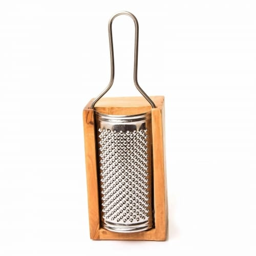 Olive Wood Cheese Grater - Large