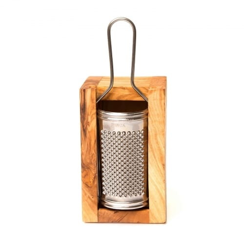 Olive Wood Cheese Grater - Small