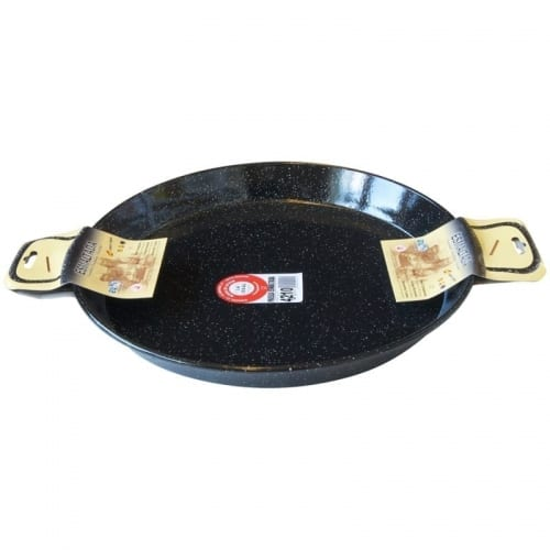 Paella Pan Enamelled - 10 Person