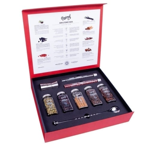 Gin and Tonic Botanicals Box Set