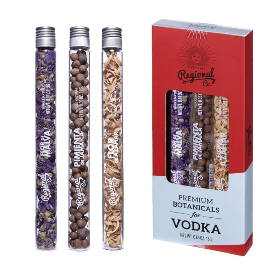 Vodka Botanicals Tube Set