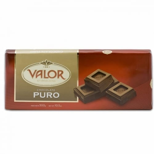 Valor Plain Chocolate