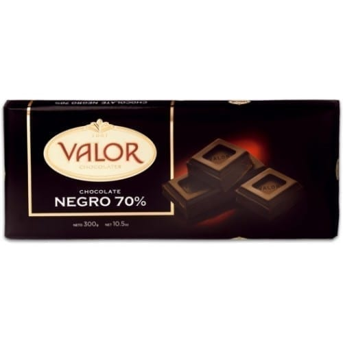 Valor Plain Chocolate 70% Cocoa