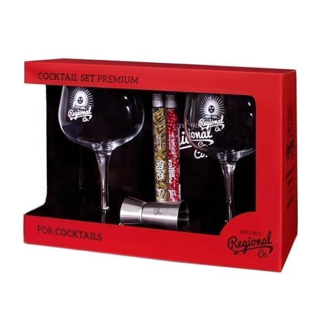 Gin and Tonic Premium Cocktail Set