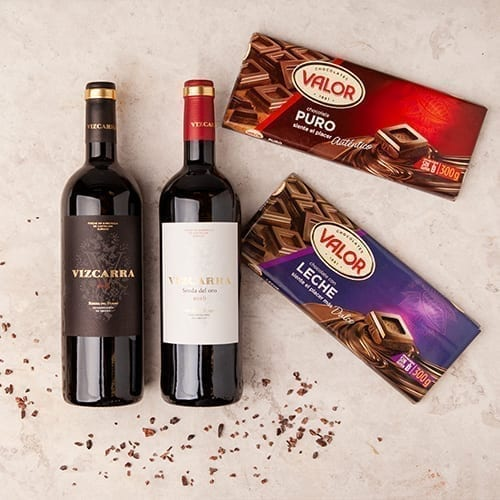 Crianza Roble and Chocolate