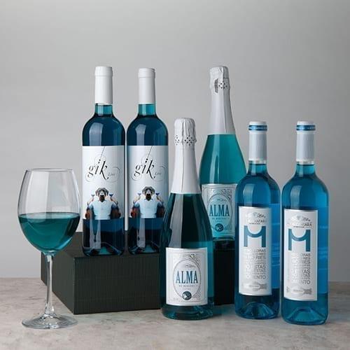 Blue Wine Gift Box