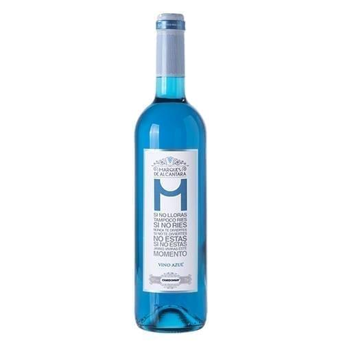 Blue Wine - Organic Marques De Alcantarra Chardonnay