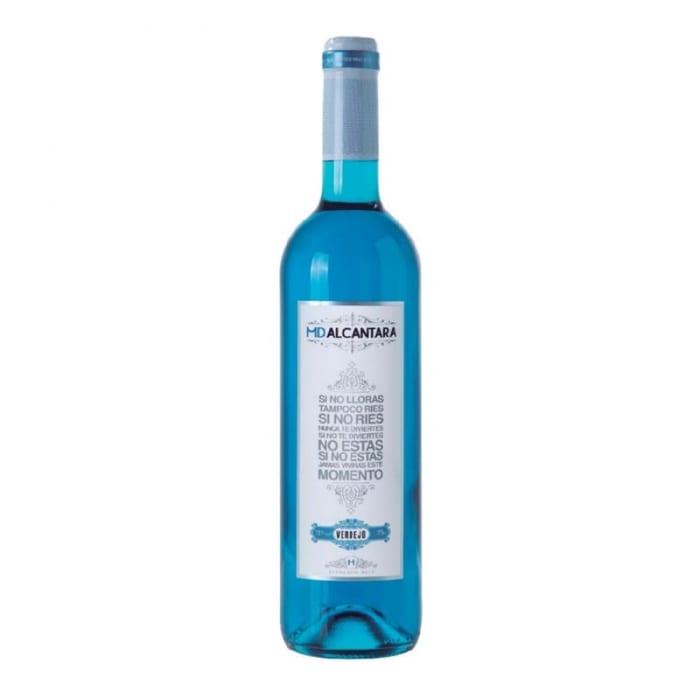 Blue Wine -Organic Marques De Alcantara Verdejo