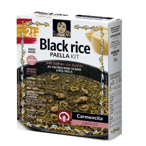 Paella Kit Black Rice