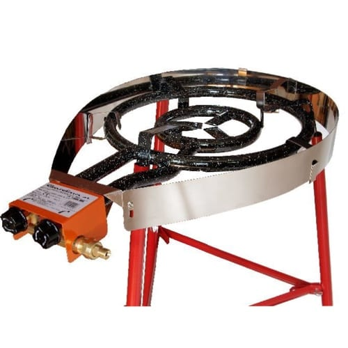 Paella Burner windshield